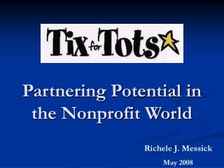Partnering Potential in the Nonprofit World