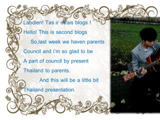 Labdien! Tas ir otrais blogs ! Hello! This is second blogs     So,last week we haven parents
