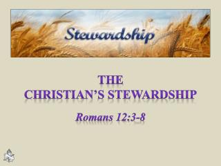 The Christian's Stewardship