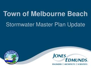 Town of Melbourne Beach Stormwater Master Plan Update