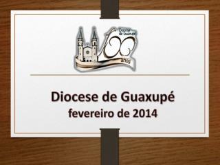 Diocese de Guaxupé fevereiro de 2014