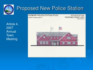 Proposed New Police Station