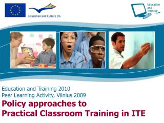 European Commission DG Education and Culture Education Directorate  School Policy Unit