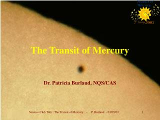 The Transit of Mercury