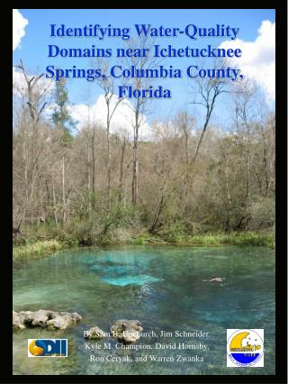 Identifying Water-Quality Domains near Ichetucknee Springs, Columbia County, Florida