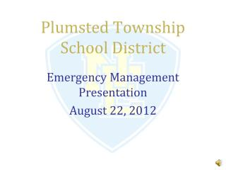 Plumsted Township School District
