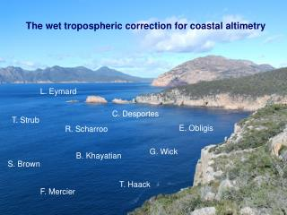 The wet tropospheric correction for coastal altimetry