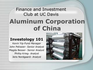 Finance and Investment Club at UC Davis