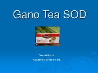 Gano Tea SOD