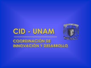 CID - UNAM