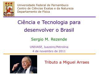 Universidade Federal de Pernambuco Centro de Ciências Exatas e da Natureza Departamento de Física