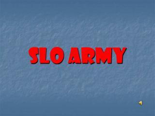 SLO ARMY