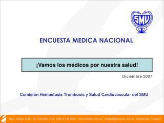 ENCUESTA MEDICA NACIONAL