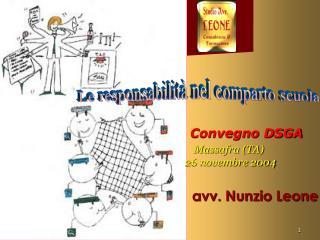 Convegno DSGA Massafra (TA)                                                26 novembre 2004