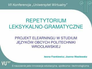 Iwona Frankiewicz, Joanna Wasilewska