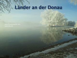 Länder an der Donau