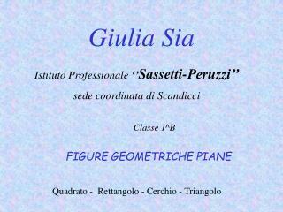 Giulia Sia