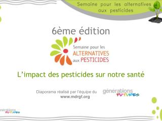 6 me  dition     L impact des pesticides sur notre sant