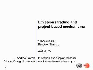 Andrew Howard Climate Change Secretariat