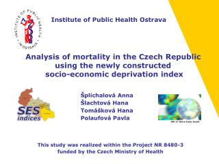 Analysis of mortality in the Czech Republic  using the newly constructed