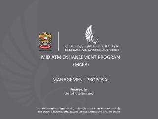 Presented by United Arab Emirates