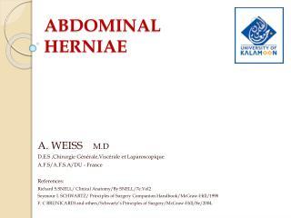 ABDOMINAL HERNIAE