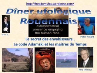 Dîner  ufologique  Rouennais