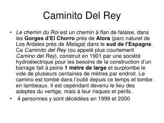 Caminito Del Rey