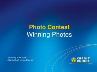 Photo Contest  Winning Photos