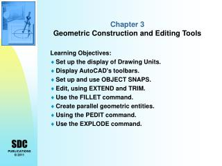 Chapter 3  Geometric Construction and Editing Tools
