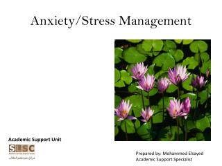 Anxiety/Stress Management