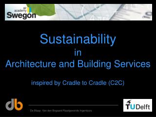 Sustainability in Architecture and Building Services
