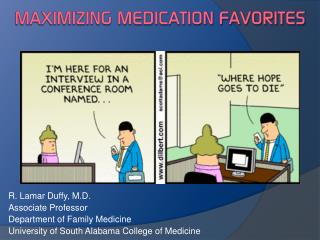 Maximizing Medication Favorites