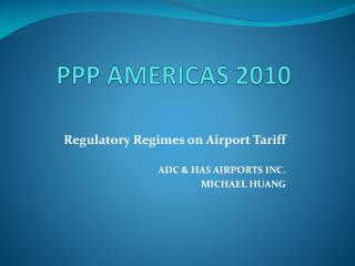 PPP AMERICAS 2010