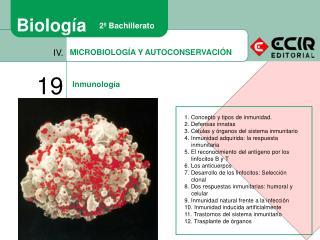MICROBIOLOGÍA Y AUTOCONSERVACIÓN