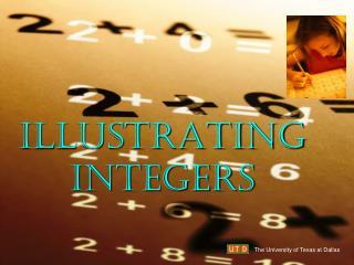 ILLUSTRATING INTEGERS