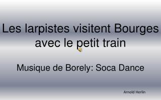 Les larpistes visitent Bourges avec le petit train