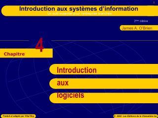 Introduction aux logiciels
