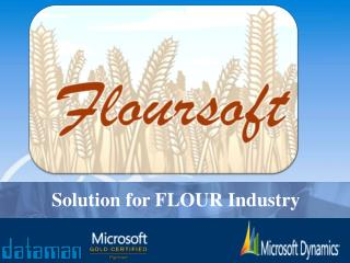 Solution for FLOUR Industry