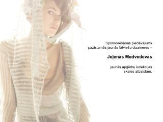 """Designer label """"MARUHSKA"""" Collection spring/summer 2008"""
