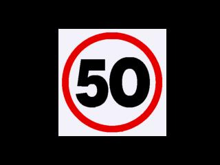 The NSW  50km/h urban speed limit was  first introduced  on  1 November 2003.