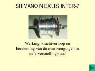 SHIMANO NEXUS INTER-7