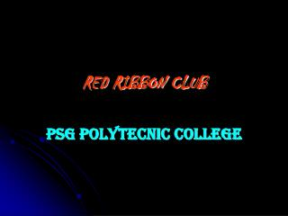 RED RIBBON CLUB