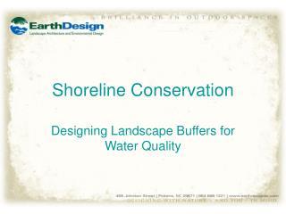 Shoreline Conservation