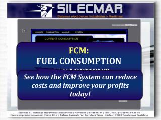FCM: FUEL CONSUMPTION MANAGEMENT