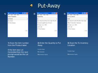 Put-Away