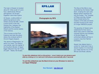 RPS.LAM Aswan