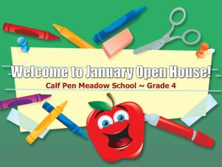 Welcome to January Open House!