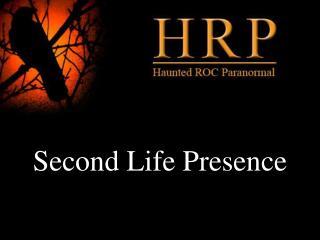 Second Life Presence