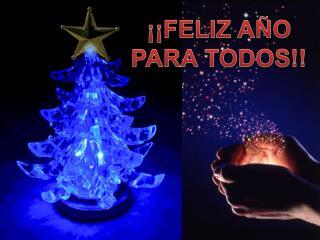 ¡¡FELIZ AÑO PARA TODOS!!
